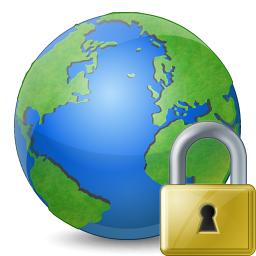 Earth Lock Icon 256x256
