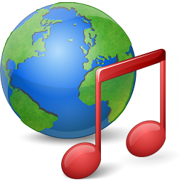 Earth Music Icon 256x256