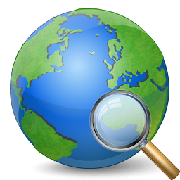 Earth View Icon 256x256