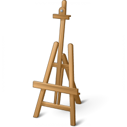 Easel Empty Icon 256x256