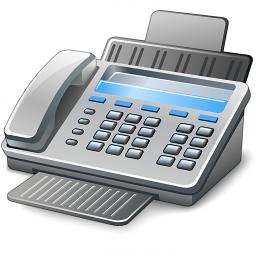 Iconexperience V Collection Fax Machine Icon