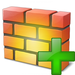 Firewall Add Icon 256x256