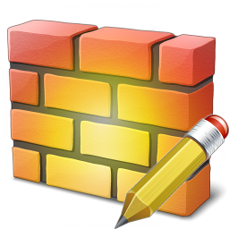 Firewall Edit Icon 256x256