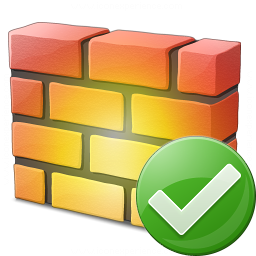 Firewall Ok Icon 256x256