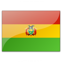 Flag Bolivia Icon 256x256