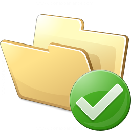 Iconexperience V Collection Folder Ok Icon