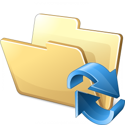 Folder Refresh Icon 256x256