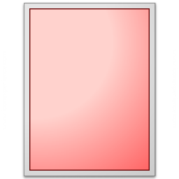 Form Red Plain Icon 256x256