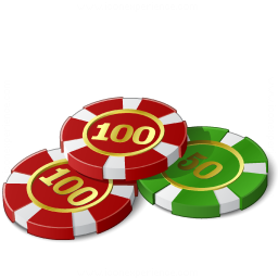 Gambling Chips Icon 256x256