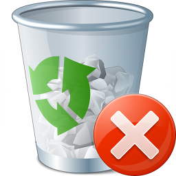 Garbage Error Icon 256x256