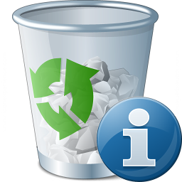 Garbage Information Icon 256x256