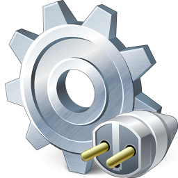 Gear Connection Icon 256x256