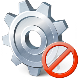 Gear Forbidden Icon 256x256