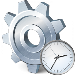 Gear Time Icon 256x256