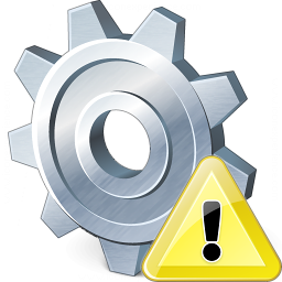 Gear Warning Icon 256x256