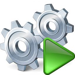 IconExperience » V-Collection » Gears Run Icon