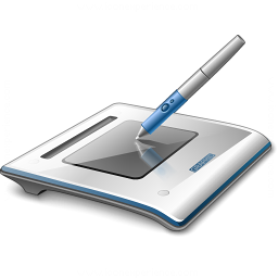 Graphics Tablet Icon 256x256
