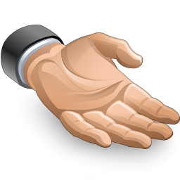 Iconexperience V Collection Hand Present Icon