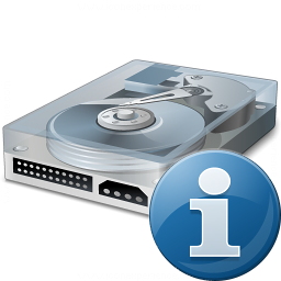 Iconexperience V Collection Hard Drive Information Icon