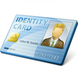 Id Card Icon 256x256