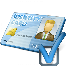 Id Card Preferences Icon 256x256