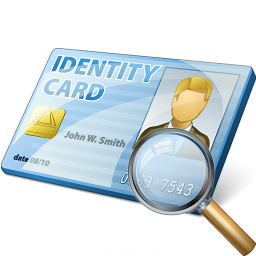 Id Card View Icon 256x256