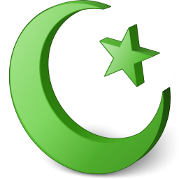 Islamic Crescent Icon 256x256