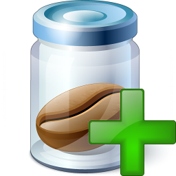 Jar Bean Add Icon 256x256