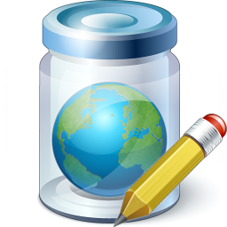 Jar Earth Edit Icon 256x256