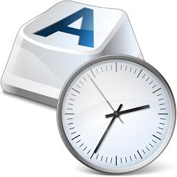 Iconexperience V Collection Keyboard Key Clock Icon