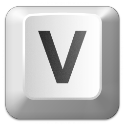 Iconexperience V Collection Keyboard Key V Icon