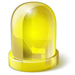 Led Yellow Icon 256x256