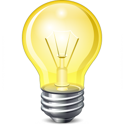 Iconexperience V Collection Lightbulb On Icon