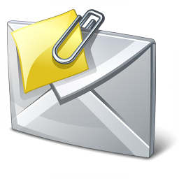 Mail Attachment Icon 256x256