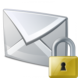 Mail Lock Icon 256x256