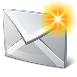 Mail New Icon 256x256