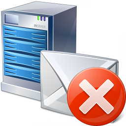 Mail Server Error Icon 256x256