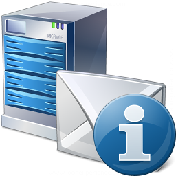Mail Server Information Icon 256x256
