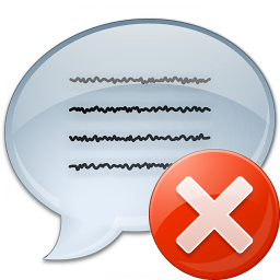 Message Error Icon 256x256
