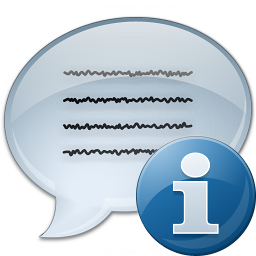 Message Information Icon 256x256