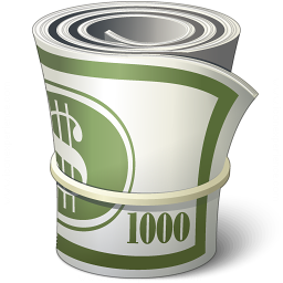 Iconexperience V Collection Money Roll Icon