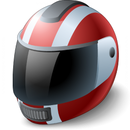 Motorcycle Helmet Icon 256x256