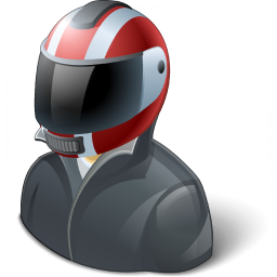 Motorcyclist Icon 256x256