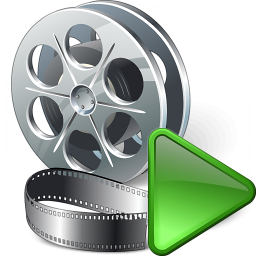 Movie Run Icon 256x256