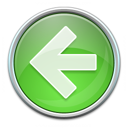 Nav Left Green Icon 256x256