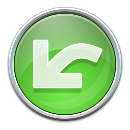 Nav Undo Green Icon 256x256