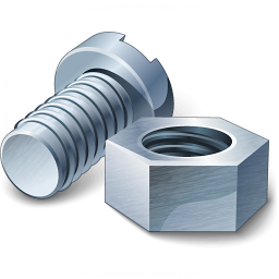 Nut And Bolt Icon 256x256