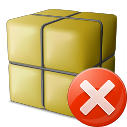 Package Error Icon 256x256