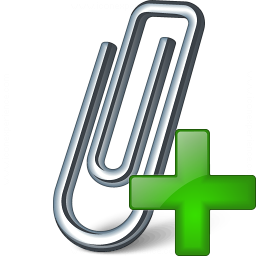 Paperclip Add Icon 256x256