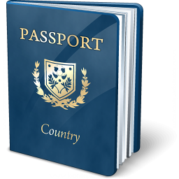 Passport Blue Icon 256x256